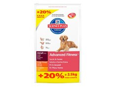 Hill's Adult Large Breed cu Pui, 12+2.5kg Gratis